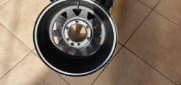Jogo de rodas de ferro daytona 15x8 furacão 6x139