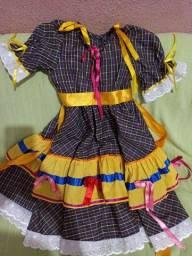Vestido de São João 6 anos