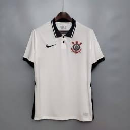 Camisa De Futebol Corinthians I 2020 / 2021