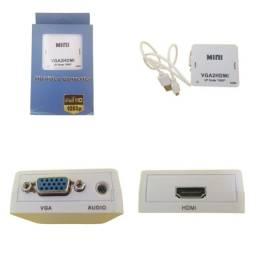 Converso VGA para HdmiI Tv Monitor