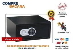 Cofre Digital Eletrônico senha/chave - 43cm x 35cm x 20cm (22,5 L)