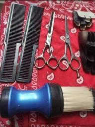 Título do anúncio: Máquina +kit de barbeiro