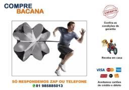 Paraquedas Para Treino Funcional Resistência Corrida Futebol