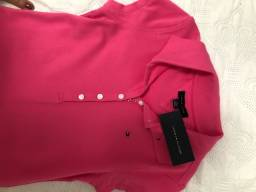 Vestido tommy Hilfiger rosa