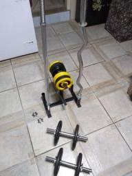 Pesos e Barras musculação