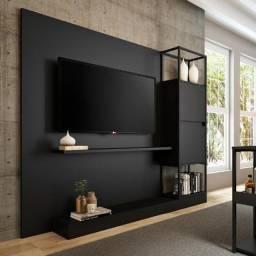Painel de TV com estante