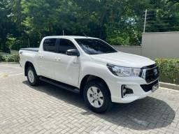 Título do anúncio: Toyota Hilux SR Diesel 4X4 2020 Baixa KM