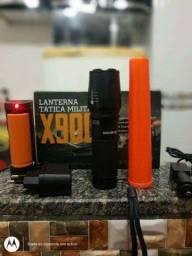 Lanterna tática militar x900 novo