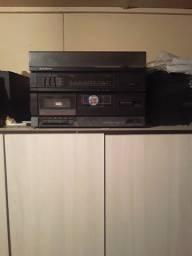 Radio toca disco antigo