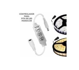 Controlador P/ Fita Led 1 Cor 12v Mini Dimmer Controla Luminosidade da Fita led