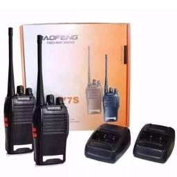 Radio Comunicador Profissional Ht Uhf 16 Canais 777S - Rf Informatica