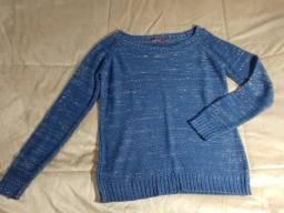 Dois blusões seminovos pelo preço de 1. Tamanho M (com brilho)