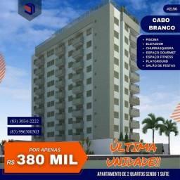 Título do anúncio: Apartamento para Venda em João Pessoa, Cabo Branco, 2 dormitórios, 1 suíte, 2 banheiros