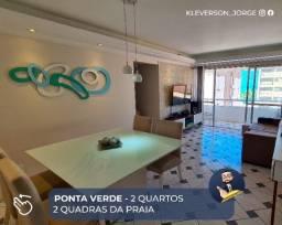 Apartamento - Ponta Verde - 02 quartos- Excelente Localização