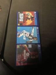 Jogos PS4 FIFA 19 20 e RDR 2
