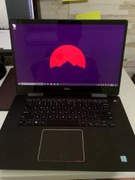"""Notebook Dell Inspiron 7573 2-in-1 TouchScreen 15"""" 4K - I7 16gb ram 256ssd Nvidia MX130"""