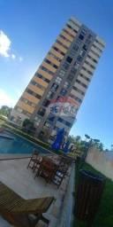 Apartamento com 2 dormitórios para alugar, 54 m² por R$ 1.200,00/mês - Pitimbu - Natal/RN
