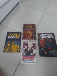 Livros legais pacote R$ 80.00