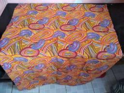 2 metros de tecido de chita