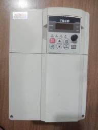 Inversor de frequência 10 hp 220v trifásico Teco