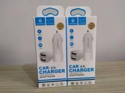 Carregador Usb Veicular P Celular (Vendo cabo Usb separado)