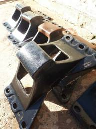 Sapatas da quinta roda jost  3 pares de 185mm e 2 pares 250mm