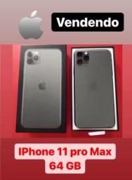 iPhone 11 pro Max 64g sem marcas de uso
