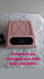 Coletor churrasqueira 80 W D&Z