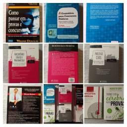 Kit de Livros para Concursos Seminovos