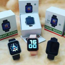 Relogio Inteligente Smartwatch D20 PLUS- Preto<br><br>