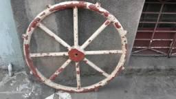 Timão de Ferro /Roda de Leme/sem as Malaguetas 0,90 M de Diâmetro