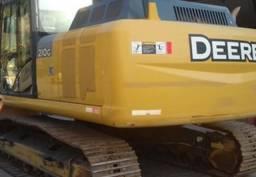 Escavadeira John Deere 210 GL ano 2014 Hidráulica esteira, cabine fechada