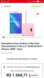 Zenfone 3 max 5.5 tela asus