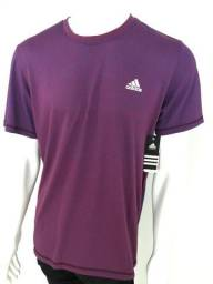 07440dcdcdc 036 Camiseta Camisa Adidas Aeroknit Climacool Tênis Crossfit Tamanho G Roxa  Original