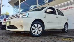 Toyota Etios 1.3 Mecânico Branco 2016 - 2016