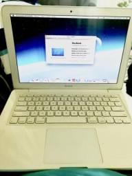 Mackbook White 2009. Aparência de novo. 6GB Ram, HD 320gb carreg. Original + Caixa comprar usado  Rio de Janeiro