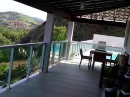 Chácara em Pinheiral 7800m2 com piscina e duas casas
