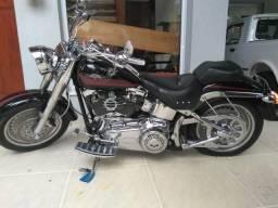 Moto Harley Davidson Fatboy 1600 - 2007
