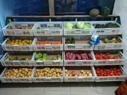 Banca expositora para frutas,verduras e legumes