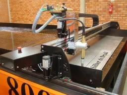 Máquina CNC Oxicorte e Corte Plasma