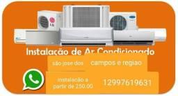 Instalacao e manutencao de ar condicionado