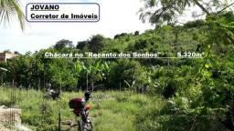(R$160.000) Chácara c/ 5.320m² no Recanto dos Sonhos