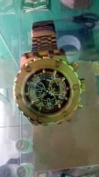 Relógio invicta original Gold