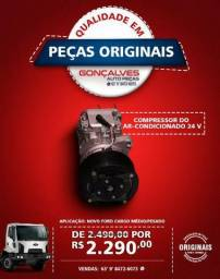 COMPRESSOR DO AR-CONDICIONADO ORIGINAL FORD CARGO