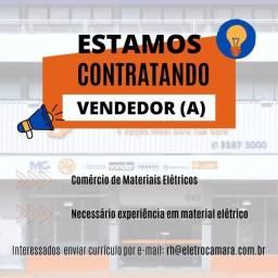 Vaga para vendedor interno | material elétrico | experiência