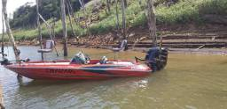 Bass boat Quest 290