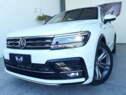 VW Tiguan 2.0 350 Tsi Allspace R Line 2018/2018 Branca Blindado