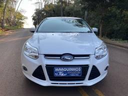 Focus 2015 Hatch Automático 1.6 Completo + Couro 81 mil km Veículo Impecável