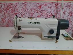 Máquina industrial de costura reta ZOJE