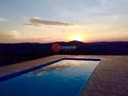 Chácara 800m² com piscina, área gourmet Santa Terezinha - MG